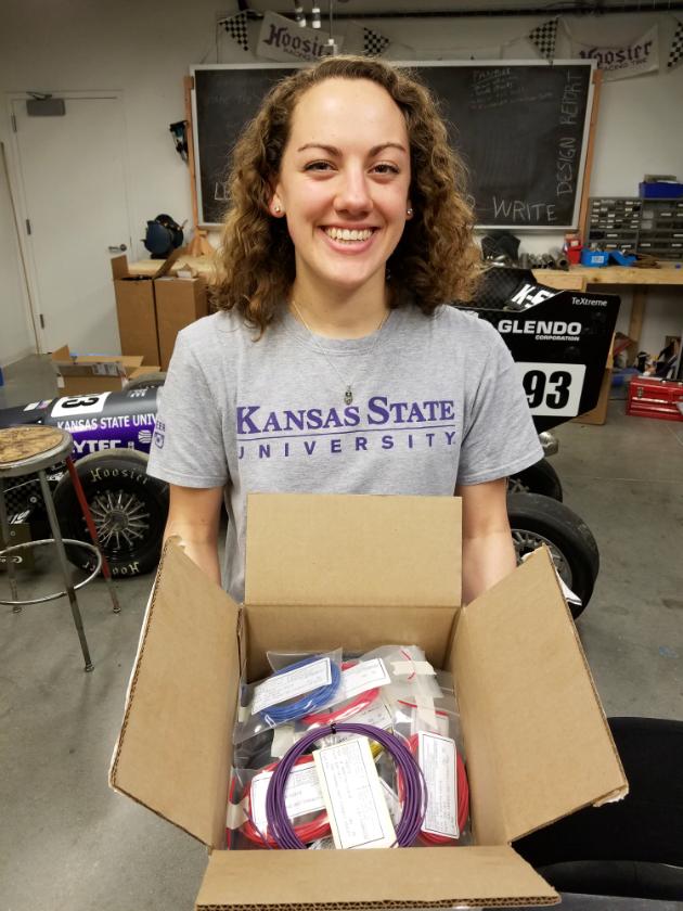 Kansas State SAE Box of Donation